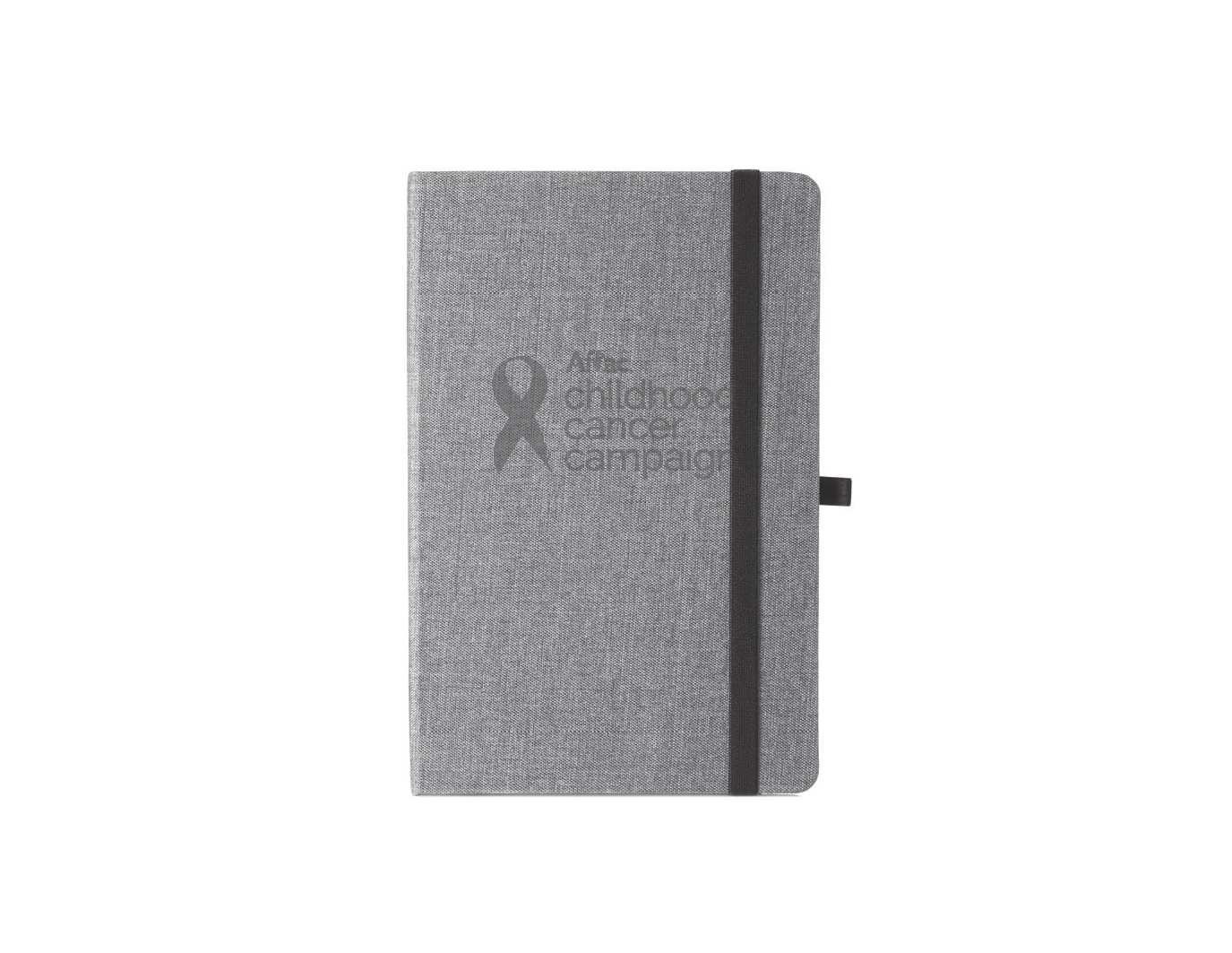 Childhood Cancer Campaign Canvas Bound Journal.