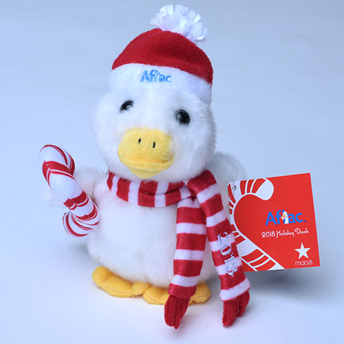 Aflac Holiday Duck.