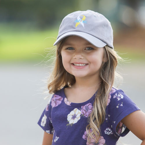 Youth Gray ACCC Hat.